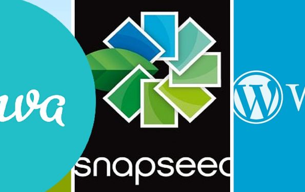 canva snapseed wordpress